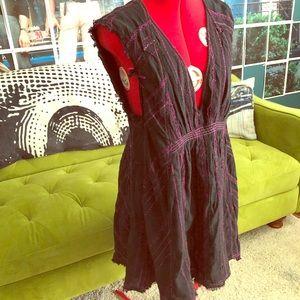 Free People Boho empire waist dress